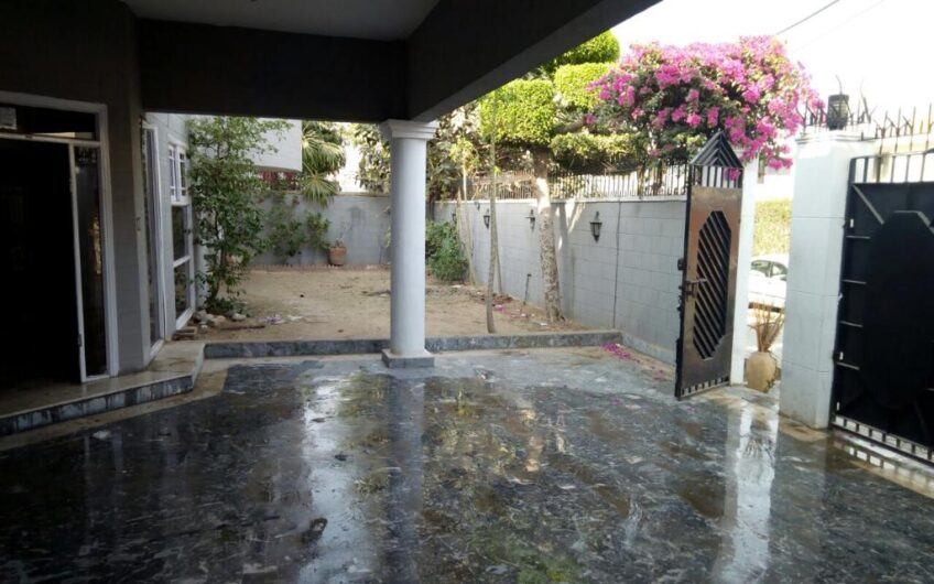 Extra Ordinary Well Maintained Owner Built House Available At Most Prestigious Location At Defence Phase 4